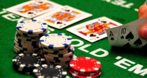 taruhan dalam permainan poker online